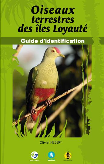 Couverture du guide d'identification des oiseaux terrestres des îles Loyauté